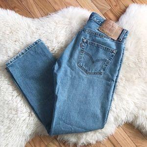 Vintage Levi's High Waisted 501 Mom Jeans